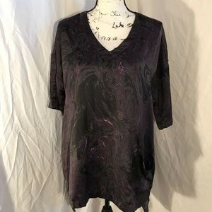 Melissa McCarthy Seven7 Tunic W Pockets Size S